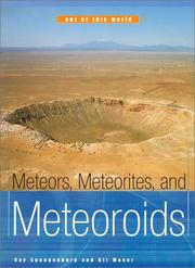 Cover of: Meteors, Meteorites, and Meteoroids | Ray Spangenburg