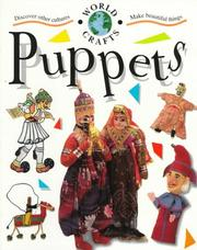 Cover of: Puppets (World Crafts)