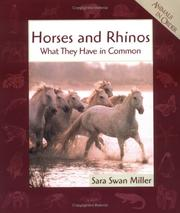 Cover of: Horses and Rhinos | Sara Swan Miller
