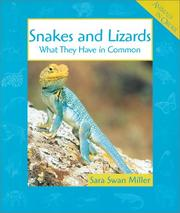 Cover of: Snakes and Lizards: What They Have in Common (Animals in Order)