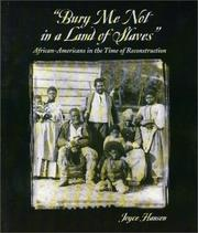 Cover of: Bury me not in a land of slaves