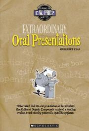 Cover of: Extraordinary oral presentations