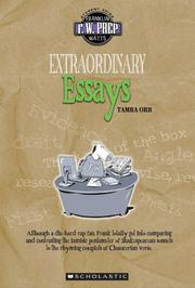 Cover of: Extraordinary essays