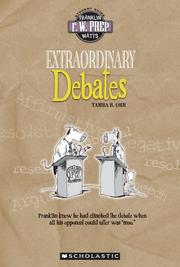 Cover of: Extraordinary debates