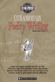 Cover of: Extraordinary poetry writing