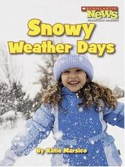 Cover of: Snowy Weather Days |