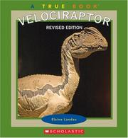 Cover of: Velociraptor