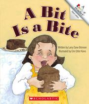 Cover of: A Bit Is a Bite