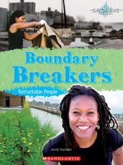 Cover of: Boundary Breakers: Remarkable People (Shockwave: History and Politics) |