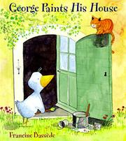 Cover of: George paints his house