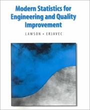 Cover of: Modern Statistics for Engineering and Quality Improvement (Statistics Series) | John S. Lawson
