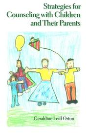 Cover of: Strategies for counseling with children and their parents