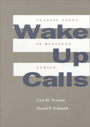 Cover of: Wake-up calls | Lisa H. Newton