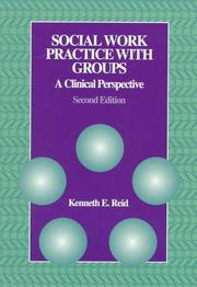 Cover of: Social work practice with groups