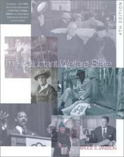 Cover of: The Reluctant Welfare State: American Social Welfare Policies