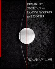 Cover of: Probability, Statistics, and Random Processes for Engineers
