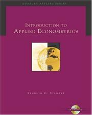 Introduction to Applied Econometrics (with CD-ROM) (Duxbury Applied Series)