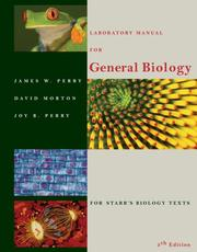 Cover of: Laboratory Manual for General Biology | James W. Perry