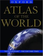 Cover of: Atlas of the World |