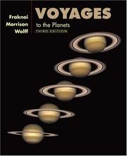 Cover of: Voyages to the Planets