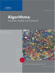 Cover of: Algorithms | Kenneth A. Berman, Jerome L. Paul