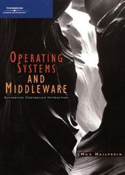 Cover of: Operating systems and middleware