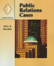 Cover of: Public relations cases | Jerry A. Hendrix