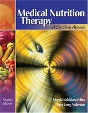 Cover of: Medical Nutrition Therapy | Marcia Nelms