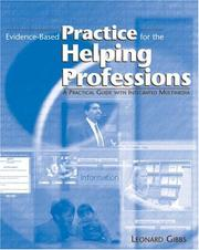Cover of: Evidence-based practice for the helping professions