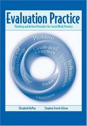 Cover of: Evaluation practice