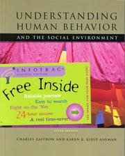 Cover of: Understanding human behavior and the social environment