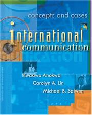 Cover of: International communication