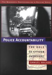 Cover of: Police Accountability