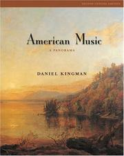 Cover of: American Music | Daniel Kingman