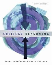 Cover of: Critical reasoning