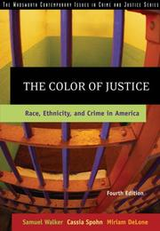 Cover of: The color of justice