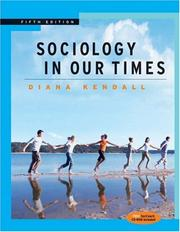 Cover of: Thomson Advantage Books: Sociology in Our Times