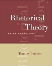 Rhetorical Theory: An Introduction (With Info Trac)