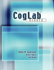 Cover of: CogLab Reader (Sports Skills) | Aimee Surprenant, Keiko Inoue, Ian Neath