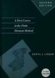 Cover of: A First Course in the Finite Element Method/Book and Disk (The Pws Series in Engineering)
