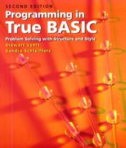 Cover of: Programming in True BASIC