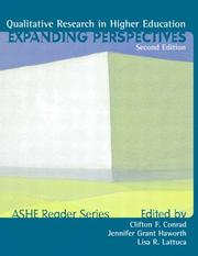 Cover of: Qualitative Research in Higher Ed | ASHE