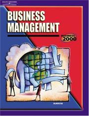 Cover of: Business 2000 | James L. Burrow