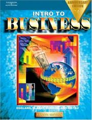 Intro to Business, Anniversary Edition by Steven A. Eggland, Les Dlabay, James L. Burrow, Robert A. Ristau