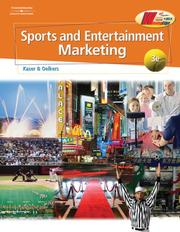 Cover of: Sports and Entertainment Marketing | Ken Kaser