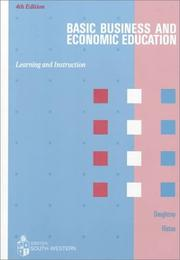 Cover of: Basic business & economic education