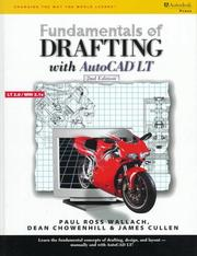 Cover of: Fundamentals of drafting with AutoCAD LT
