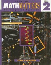 Cover of: Math Matters Book 2 | Chicha Lynch
