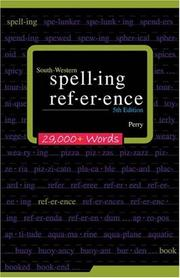 Cover of: South-Western Spelling Reference | Devern J. Perry