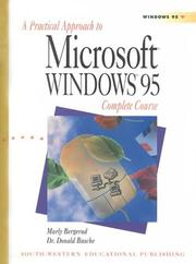 Cover of: A Practical Approach to Microsoft Windows 95 Complete Course | Marly Bergerud